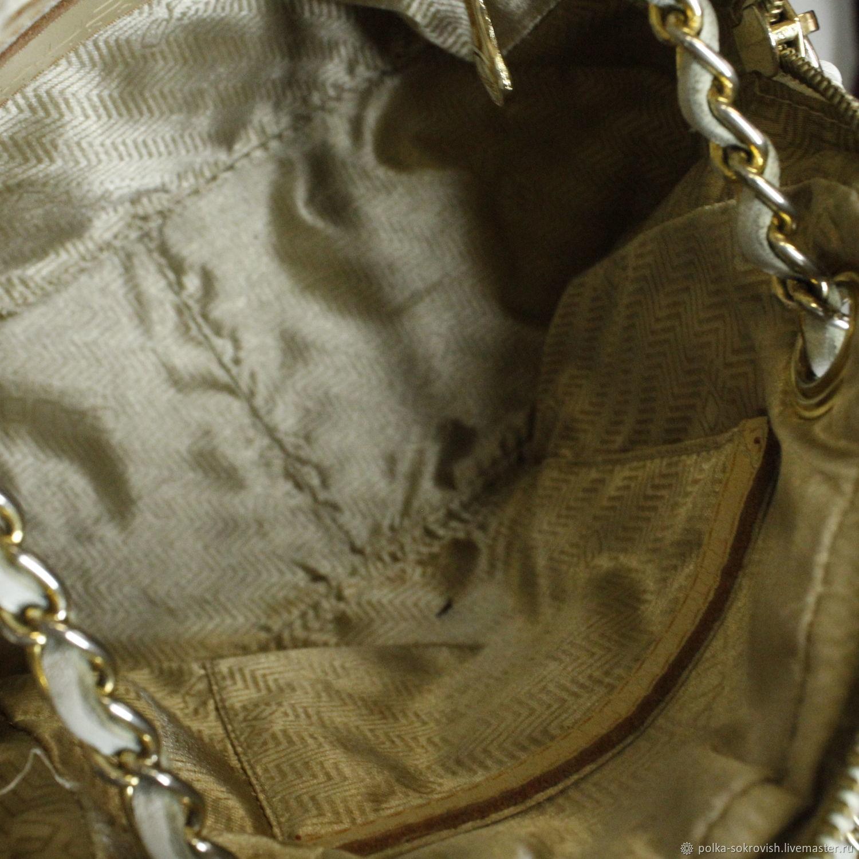 Полка Сокровищ. Винтажные сумки и кошельки. Сумка кожаная Gaude, 80-е. 72df8a7fc15