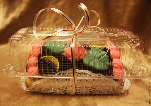 Мыльный торт `Сказка`. Оригинальный подарок на любой случай.Подарки к Новому году. Подарок сладкоежке. Edenicsoap.