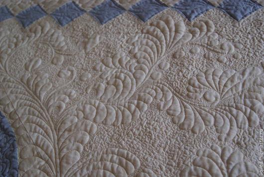 Текстиль, ковры ручной работы. Ярмарка Мастеров - ручная работа. Купить Покрывало на кровать. Handmade. Бежевый, Квилтинг и пэчворк, слимтекс