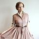 Платья ручной работы. Ярмарка Мастеров - ручная работа. Купить Платье из хлопка в стиле 50-х. Handmade. Платье