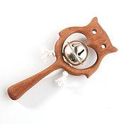 Куклы и игрушки handmade. Livemaster - original item Rattle with bells