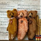 Куклы и игрушки ручной работы. Ярмарка Мастеров - ручная работа Карманные мишки. Или сумочные. Или подушечные.. Handmade.