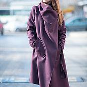 Одежда handmade. Livemaster - original item Cashmere, fashionable coat