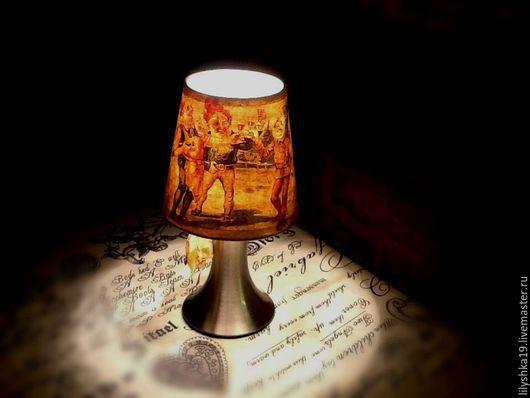 Освещение ручной работы. Ярмарка Мастеров - ручная работа. Купить Christmas ale))). Handmade. Золотой, уютный интерьер