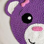 Аксессуары ручной работы. Ярмарка Мастеров - ручная работа Детский плюшевый коврик. Handmade.