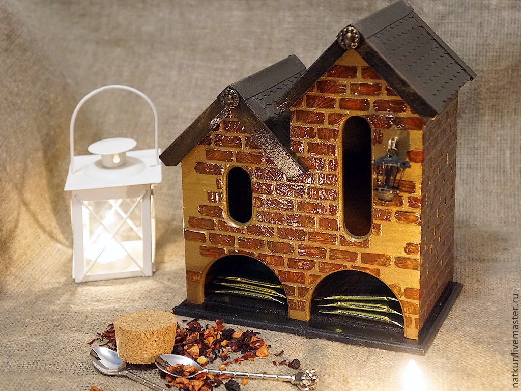 Красивый чайный домик своими руками 44