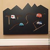Куклы и игрушки handmade. Livemaster - original item Games educational Board of the City, 800mm. Handmade.