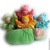 Куклы и игрушки ручной работы. Ярмарка Мастеров - ручная работа Сплюша вальдорфская. Handmade.