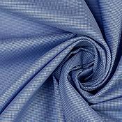 Материалы для творчества handmade. Livemaster - original item Cotton shirt art. 28.0039 (Blue). Handmade.