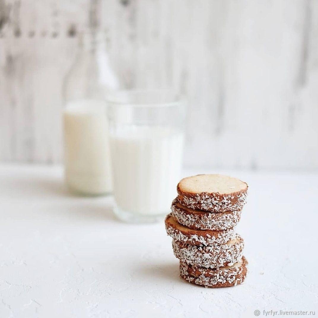 Кокосовое печенье – купить на Ярмарке Мастеров – LIABORU | Печенье, Смоленск