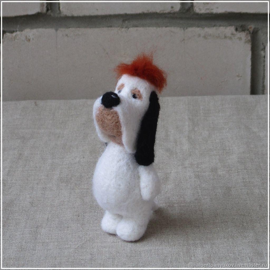 Сувенир из шерсти «Droopy», Войлочная игрушка, Сыктывкар,  Фото №1