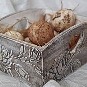 Подставки ручной работы. Ярмарка Мастеров - ручная работа Подставка для кухни или конфетница в стиле шебби. Handmade.