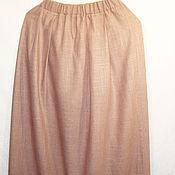 Одежда handmade. Livemaster - original item Linen skirt dome. Handmade.