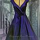 Dress-retro 'Audrey '-2. Dresses. Lana Kmekich (lanakmekich). My Livemaster. Фото №4