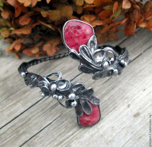 """Браслеты ручной работы. Ярмарка Мастеров - ручная работа. Купить браслет """"Розовый сад"""". Handmade. Браслет, украшения ручной работы"""