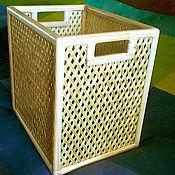 Для дома и интерьера ручной работы. Ярмарка Мастеров - ручная работа Короб ажурный. Handmade.
