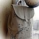 """Женские сумки ручной работы. Ярмарка Мастеров - ручная работа. Купить текстильный  рюкзак """"время путешествий"""". Handmade. Эко сумка"""