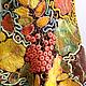 """Юбки ручной работы. ЮБКА """"Осенний вальс"""". студия Феодосия. Интернет-магазин Ярмарка Мастеров. Листья, желтый, кленовый лист"""