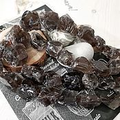 Материалы для творчества handmade. Livemaster - original item Smoky quartz pieces 15-20x14-18x10-14 mm (4345). Handmade.