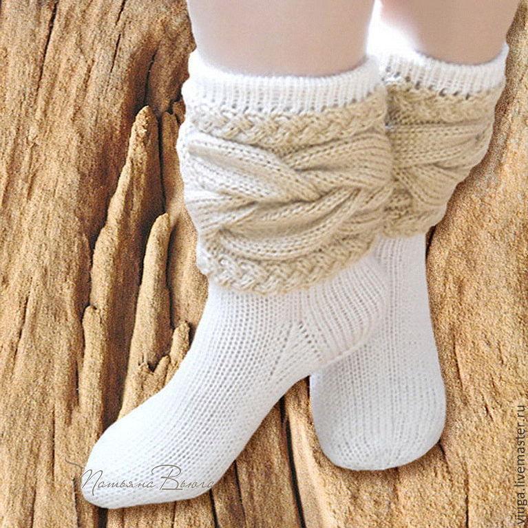 879fefe146720 Душа дерева. Носки вязаные спицами – купить в интернет-магазине на ...