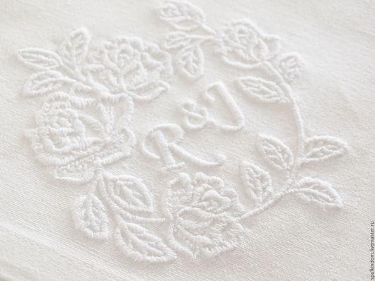 Салфетка с вышивкой  `Ромео и Джульетта` `Шпулькин дом` мастерская вышивки