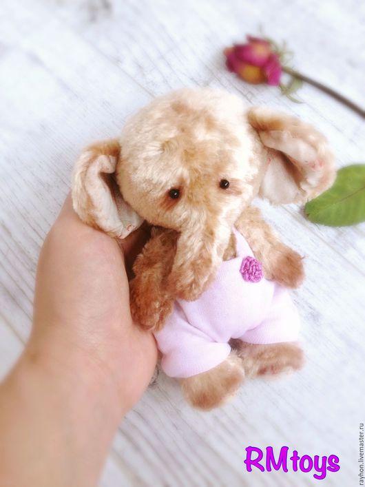 Мишки Тедди ручной работы. Ярмарка Мастеров - ручная работа. Купить Слоняша. Handmade. Коричневый, плюш, мишка, слон, teddy
