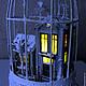 Кукольный дом ручной работы. Зимний дворик. Любовь Скупова (lskupova). Ярмарка Мастеров. Улочка, ангел, стекло