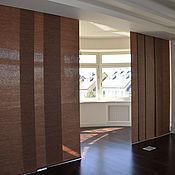 Для дома и интерьера ручной работы. Ярмарка Мастеров - ручная работа Японские шторы на заказ. Handmade.