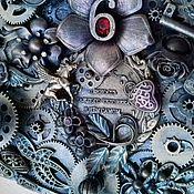 Часы классические ручной работы. Ярмарка Мастеров - ручная работа Часы стимпанк (steampunk) -Мерседес. мастер Ольга Тувина. Handmade.
