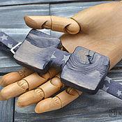 Аксессуары ручной работы. Ярмарка Мастеров - ручная работа Галстук бабочка Wood Vintage / Галстук-бабочка. Handmade.