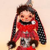 Куклы и игрушки ручной работы. Ярмарка Мастеров - ручная работа авторская игрушка Монстрик заяц. Handmade.