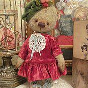 Куклы и игрушки ручной работы. Ярмарка Мастеров - ручная работа Мишка Кристина Новый год. Handmade.