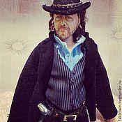 Куклы и игрушки handmade. Livemaster - original item Doll portrait. Russell Crowe as Ben Wade.. Handmade.