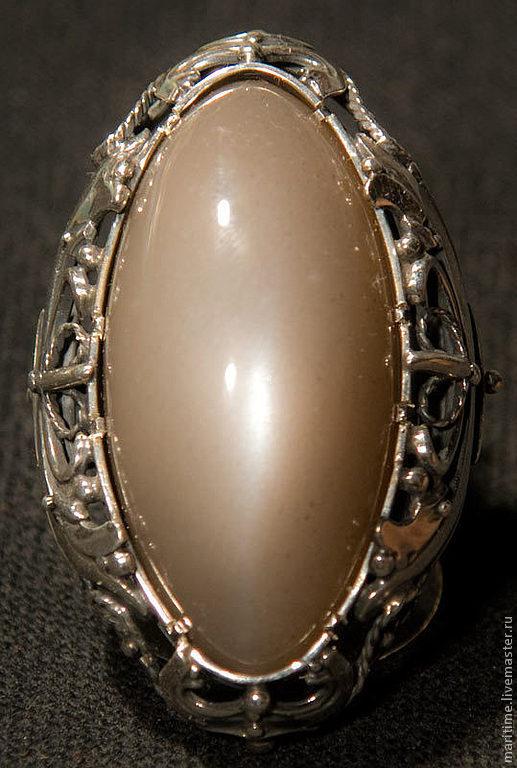 """Кольца ручной работы. Ярмарка Мастеров - ручная работа. Купить Кольцо с лунным камнем """"Луна-луна"""". Handmade. Лунный камень"""