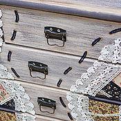 """Для дома и интерьера ручной работы. Ярмарка Мастеров - ручная работа Комод  кантри  """"Ярмарки краски"""". Handmade."""