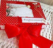 Сувениры и подарки ручной работы. Ярмарка Мастеров - ручная работа Сочная коробочка для денег или небольшого подарка. Handmade.