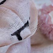 Аксессуары handmade. Livemaster - original item Italian linen stole