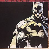 Картины и панно ручной работы. Ярмарка Мастеров - ручная работа Картина Бэтмен. Handmade.