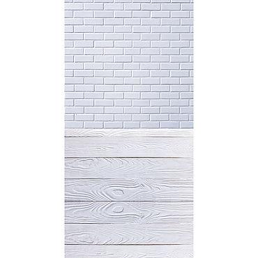 """Дизайн и реклама ручной работы. Ярмарка Мастеров - ручная работа Фотофон """"Светлая кирпичная стена"""" #34. Handmade."""