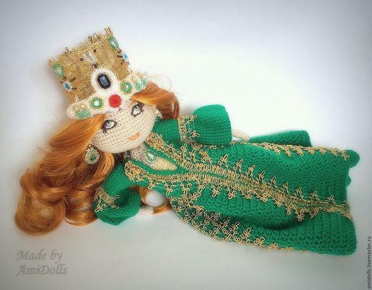 Коллекционные куклы ручной работы. Ярмарка Мастеров - ручная работа. Купить Кукла Хюррем Султан.Итнтерьерная вязаная игрушка  амигуруми. Handmade.