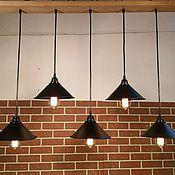 Потолочный светильник-люстра в стиле Лофт (Loft), Рустик, Ретро