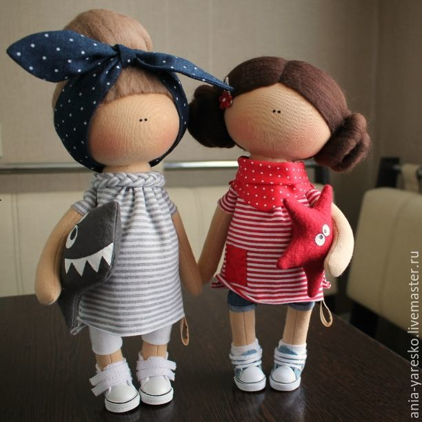 Кукла в морском стиле, Куклы тыквоголовки, Алексеевка, Фото №1