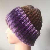 Аксессуары handmade. Livemaster - original item Knitted hat. Mohair hat women`s. Handmade.
