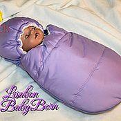 Одежда для кукол ручной работы. Ярмарка Мастеров - ручная работа Конверт для Babyborn, конверт для куклы. Handmade.