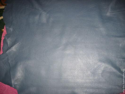 Шитье ручной работы. Ярмарка Мастеров - ручная работа. Купить Нтуральная кожа. Италия. Цвет мурена. Handmade. Тёмно-синий