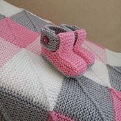 Для дома и интерьера ручной работы. Ярмарка Мастеров - ручная работа Детское пэчворк одеяло. Handmade.