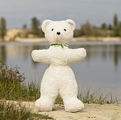 Винтаж ручной работы. Ярмарка Мастеров - ручная работа Большой белый медведь. Handmade.