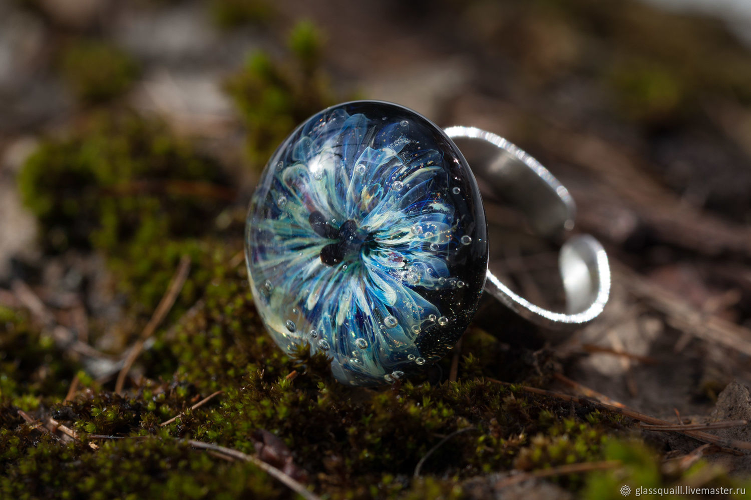 Spring ice glass ring', Rings, Moscow,  Фото №1