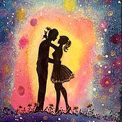 Картины и панно ручной работы. Ярмарка Мастеров - ручная работа Любовь!!!. Handmade.