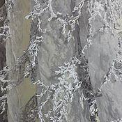 Материалы для творчества ручной работы. Ярмарка Мастеров - ручная работа 49 Объемная ткань 2 цвета. Handmade.